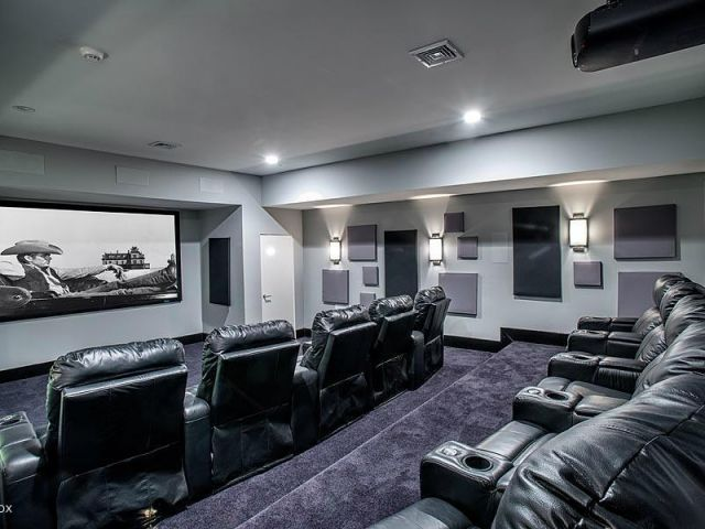 GEORGIAN   GREENWICH, CT Colonial Mansion, Home Theater Design, Home  Cinemas, Entertainment