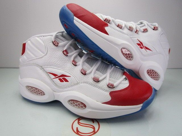 67fcf3a4ee48 Details about Reebok Mens Allen Iverson OG Question 3 Mid White ...