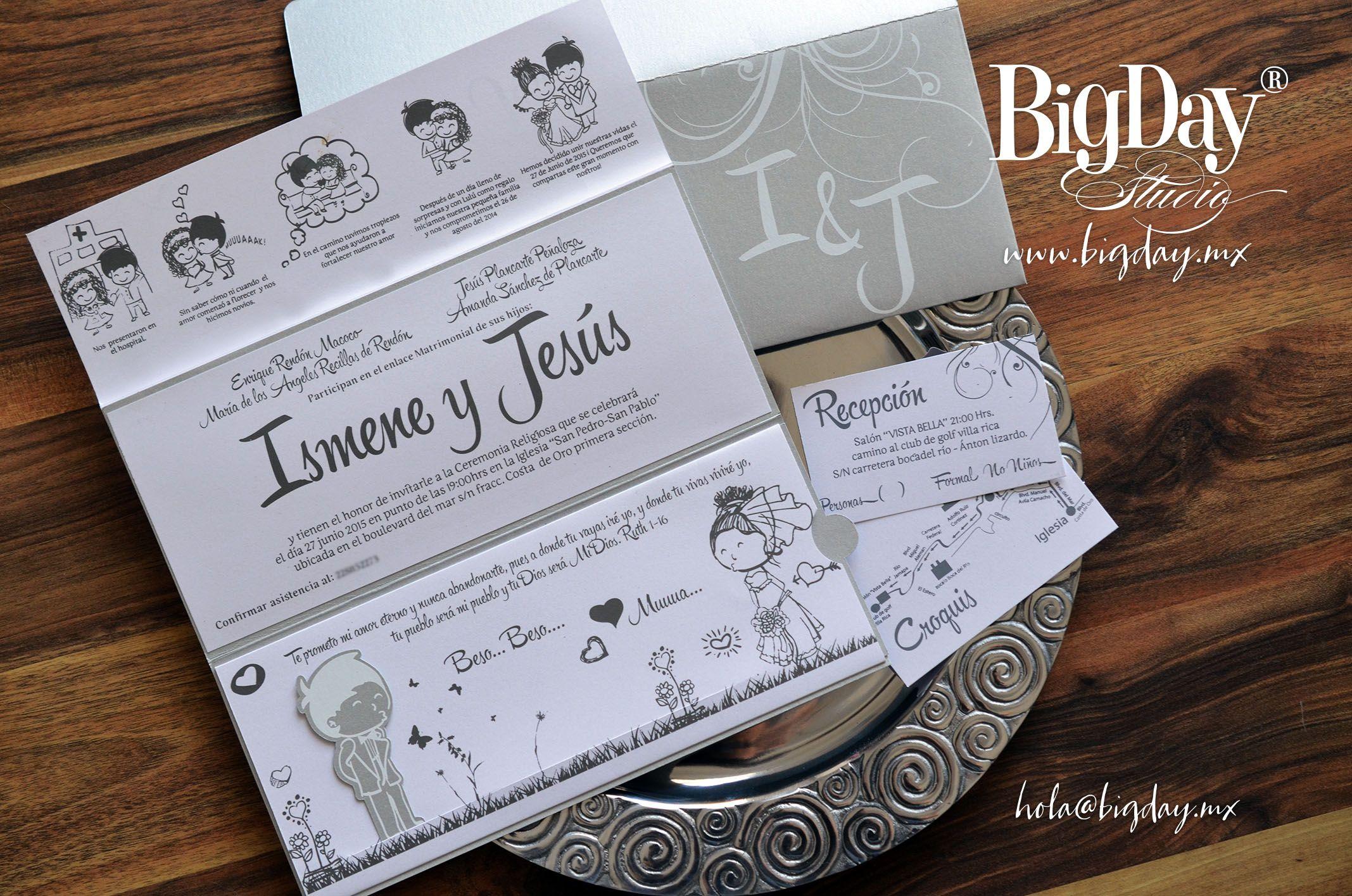 Invitaciones De Boda Nuestra Historia Para Imprimir Gratis