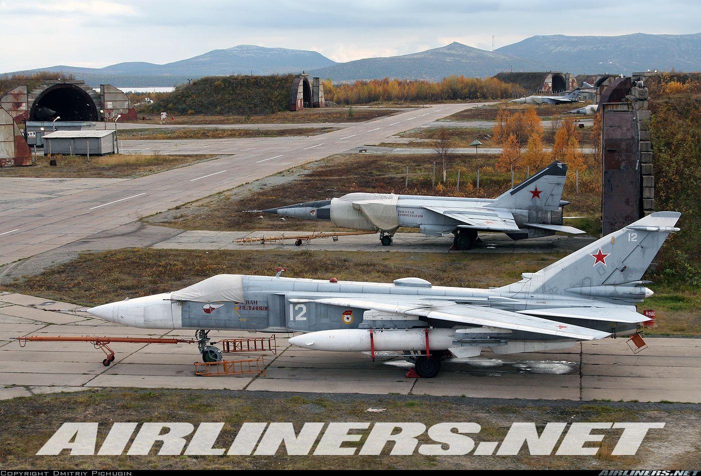 Su-24 and Mig-31