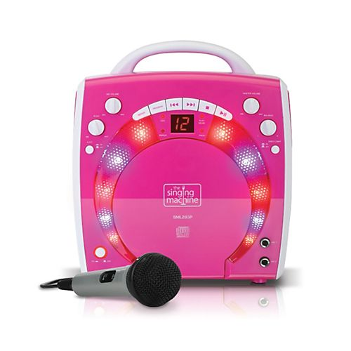 The Singing Machine Portable CD & Graphics Karaoke System #karaokeplayer