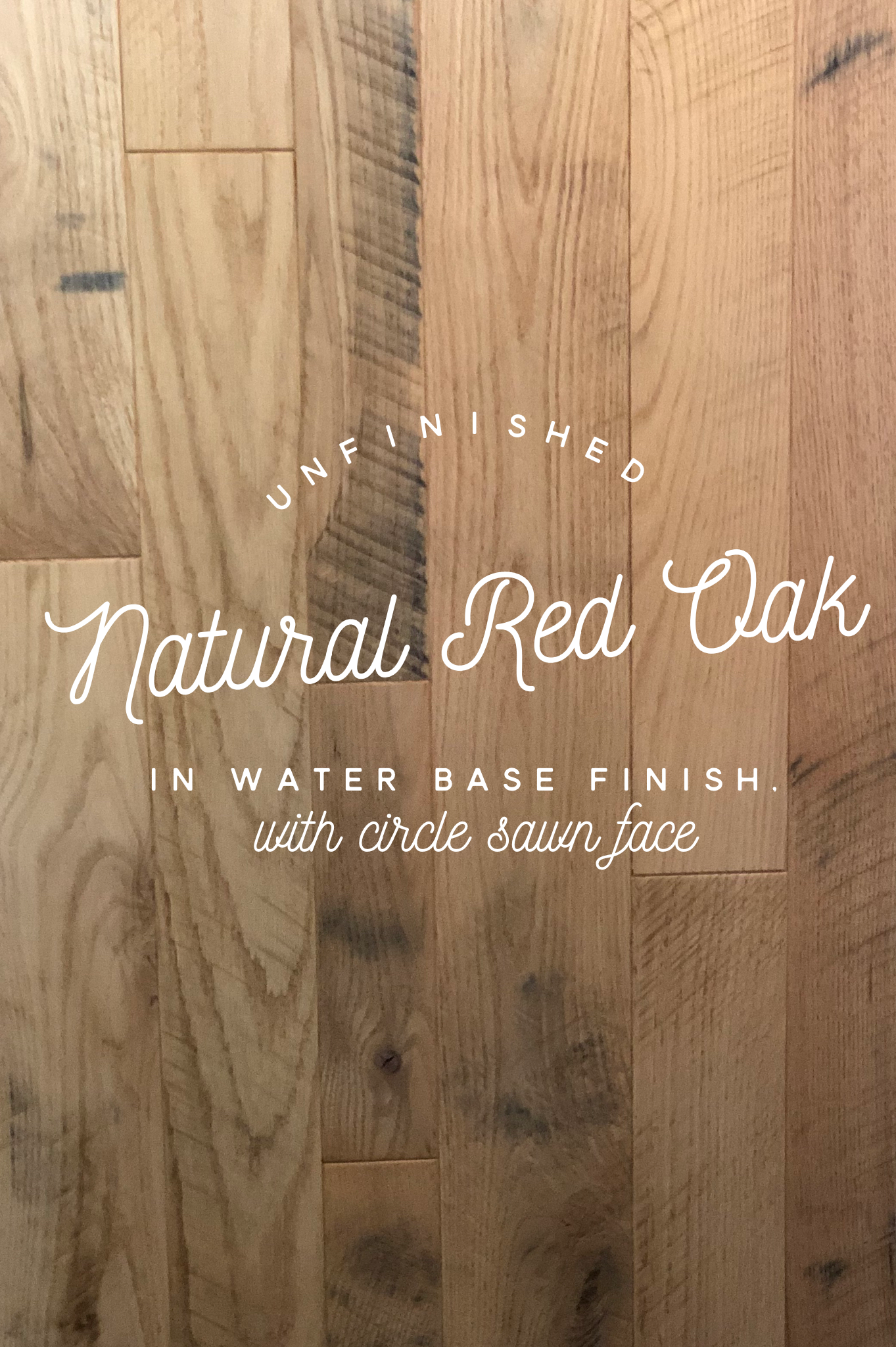 Munday hardwoods inc is offering unfinished natural red oak circle