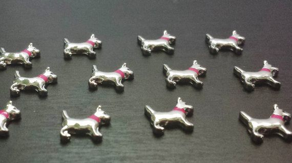 Dog Floating Charm for Living LocketsFits Origami by PrettyPalazzo