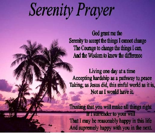 Serenity Prayer To Share | Email This BlogThis! Share to Twitter ...