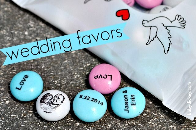 I Love These Personalized Wedding Favors And Here S A List Of More Creative Ideas To Use My M For Your Celebrations