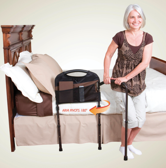 Mobility Bed Rail Bed rails, Bed, New homes