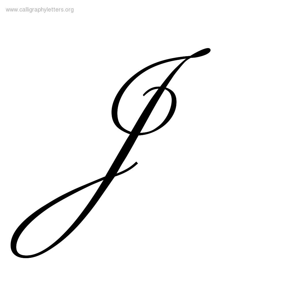 Worksheets Capital Letter J In Cursive latin capital letter j gallery for fancy tattoo