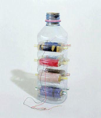 50 Objetos útiles y creativos hechos con botes de plástico (PET). - Vida Lúcida