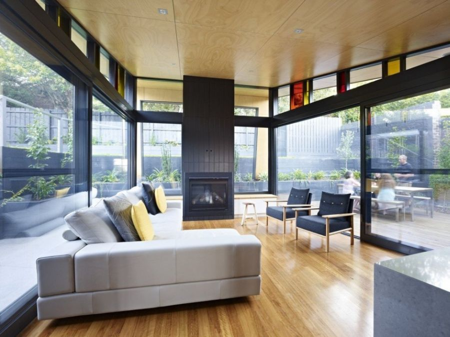 Explore Modern Living Room Designs And More Contemporary Extension To A Classic Melbourne Kew House