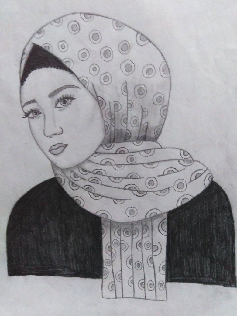 رسم فتاة محجبه My Drawings Drawings