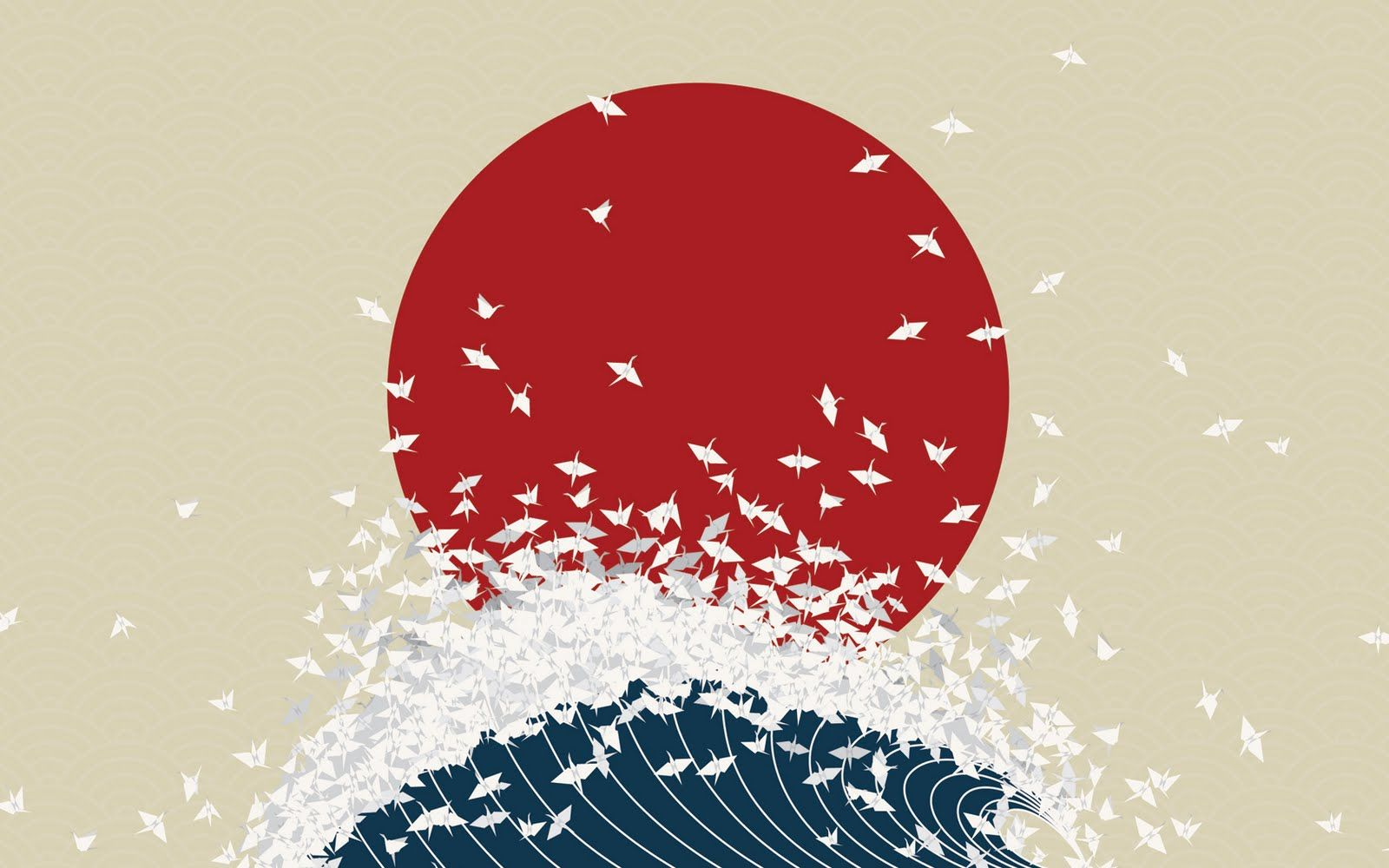 Japanese Designs Avec Images Affiches D Art Grue En Papier