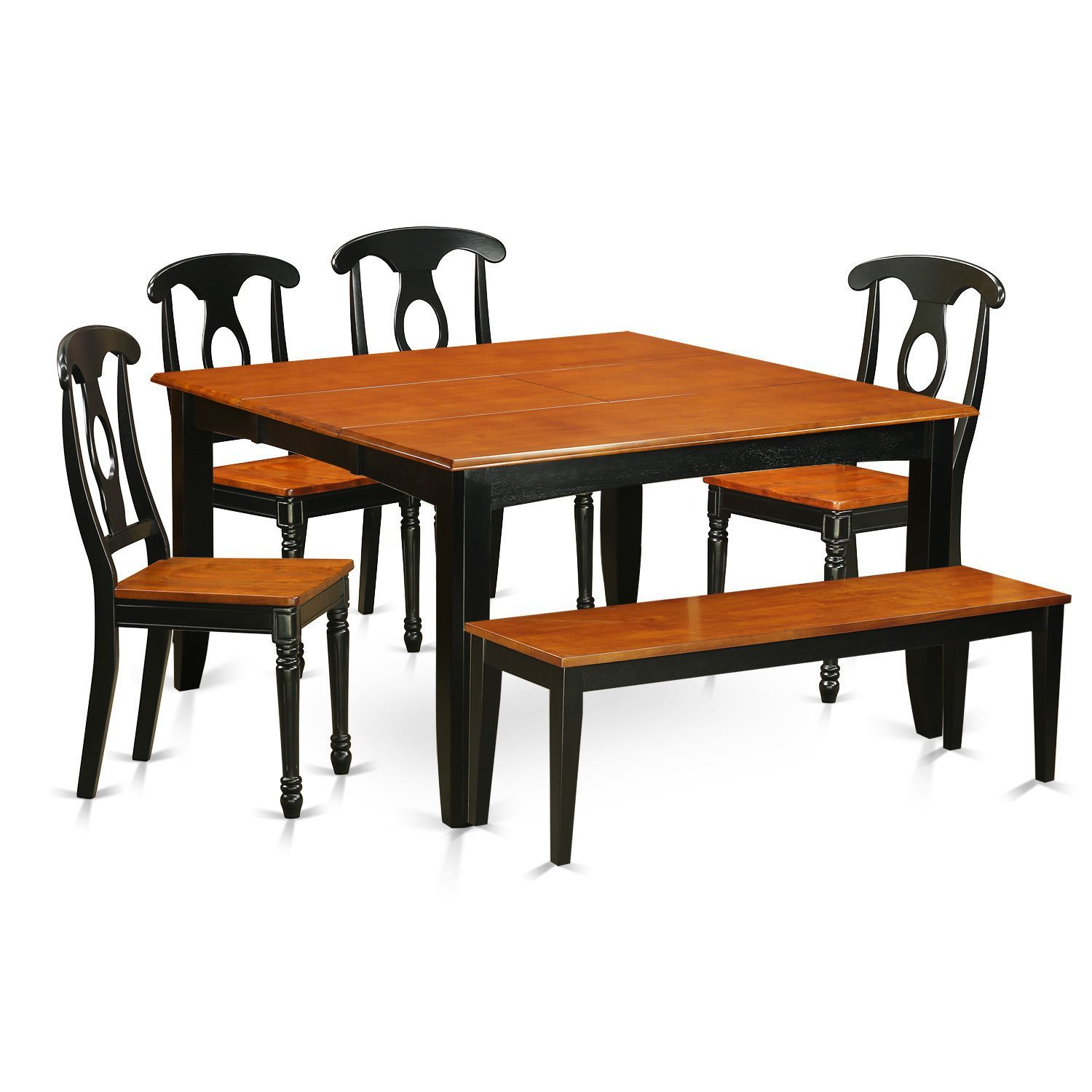 Pfkebch solid wood chair and dining bench piece dining room