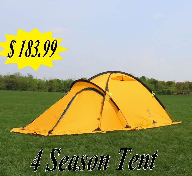 2 person 4 season lightweight backpacking tent suitable for c&ing hiking hunting  sc 1 st  Pinterest & 2 person 4 season lightweight backpacking tent suitable for ...