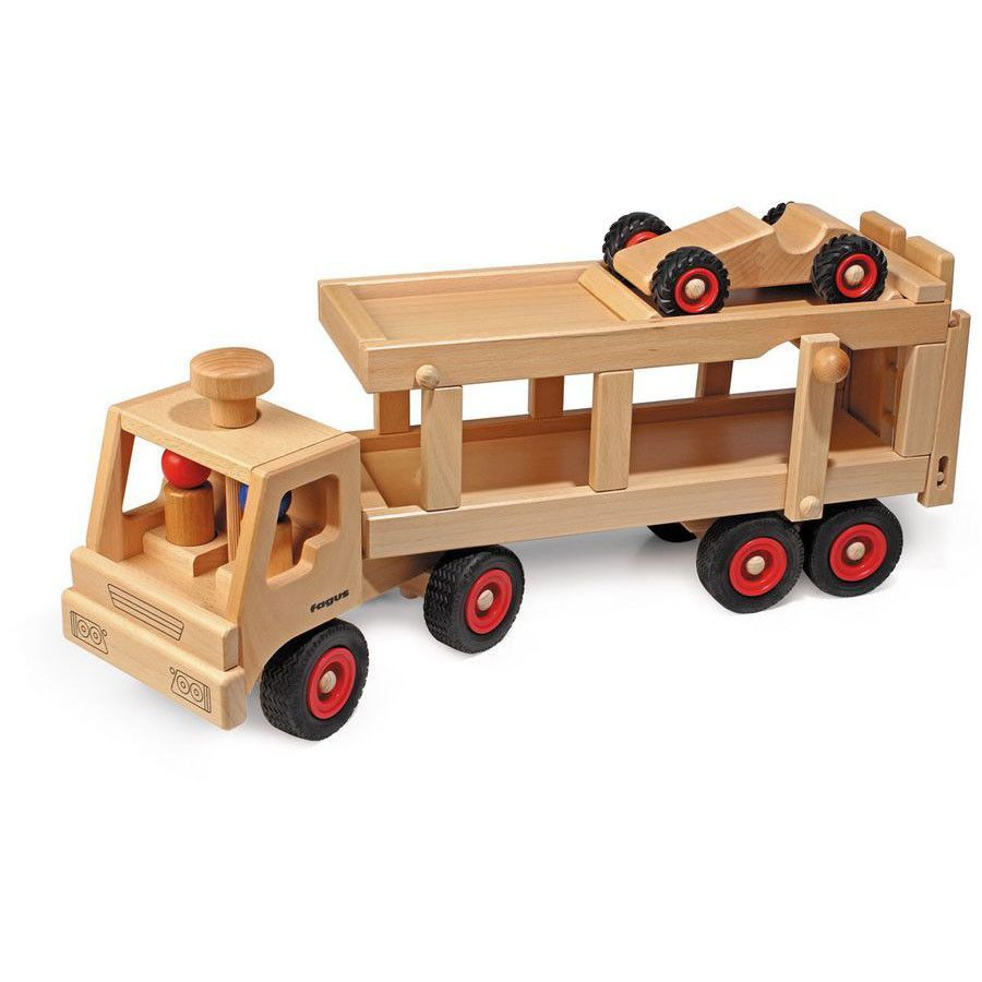 Car Transporter Wooden Toy Truck Wooden Toy Trucks