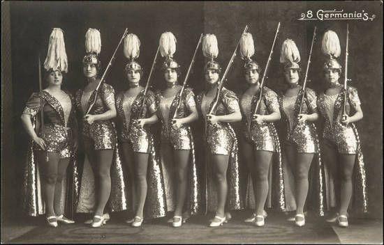 8 Germanias Variete Zirkus Kabarett 1914 Sammlung Online Zirkus