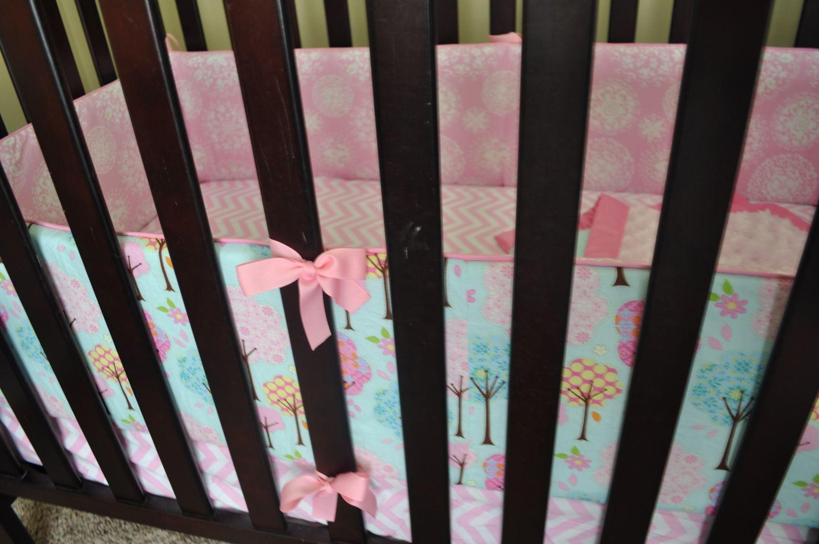 Diy Crib Bumpers I Have A Beautiful Crib Blanket That