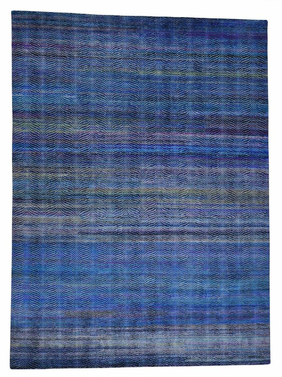 90 x 122 contemporary multicolored textured silk rug mohr mcpherson