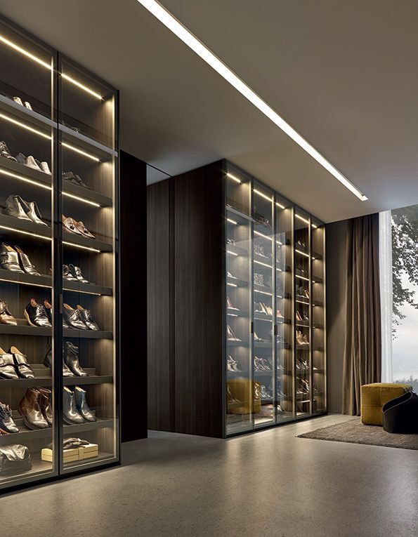 Oh My God The Shoes This Is A Gorgeous Closet Glass To Display All Your Amazing Shoes Luks Gardirop Ic Tasarim Urun Tasarimi