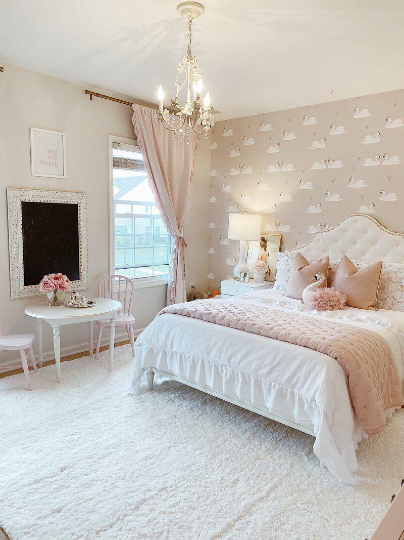Christophe Upholstered Panel Headboard In 2021 Big Bedrooms Rich Girl Bedroom Cute Bedroom Ideas