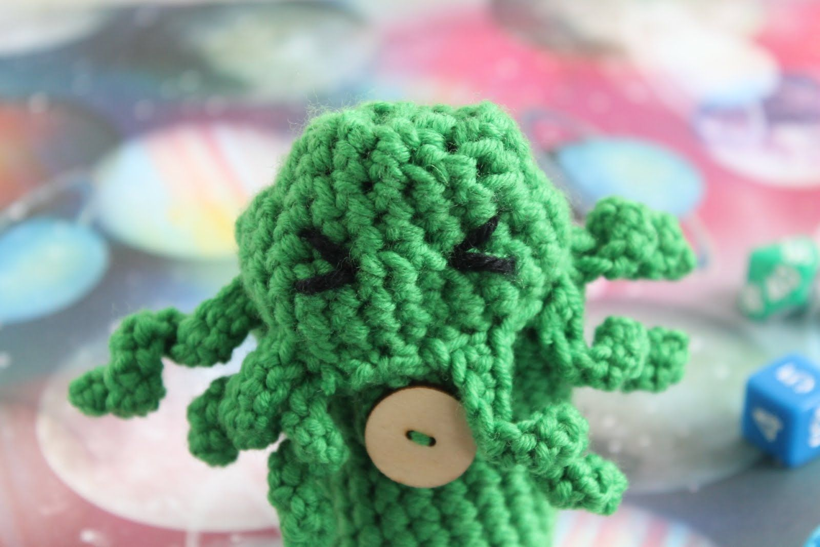 Free cthulhu dice bag crochet pattern cthulhu crochet and patterns bankloansurffo Choice Image