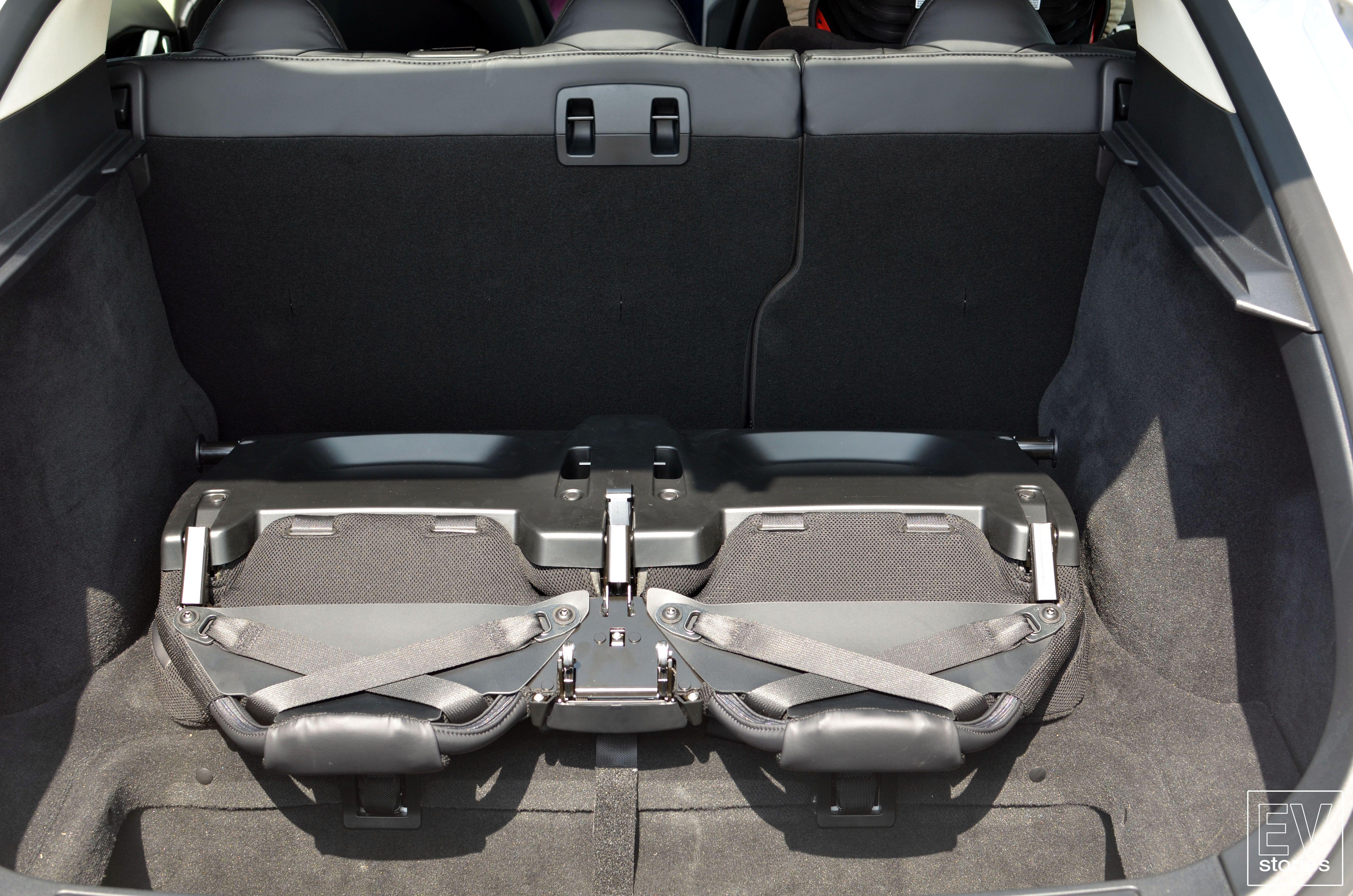Tesla rear facing seat