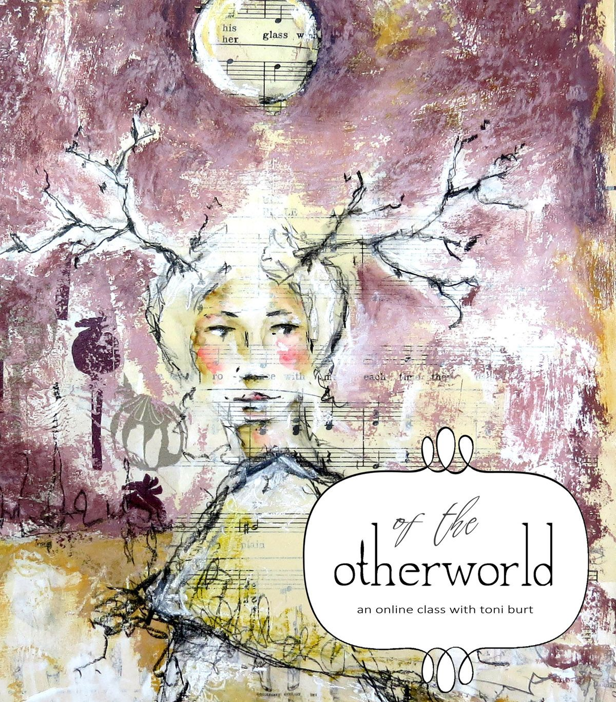 Of The Otherworld In 2020 Online Art Classes Online Art