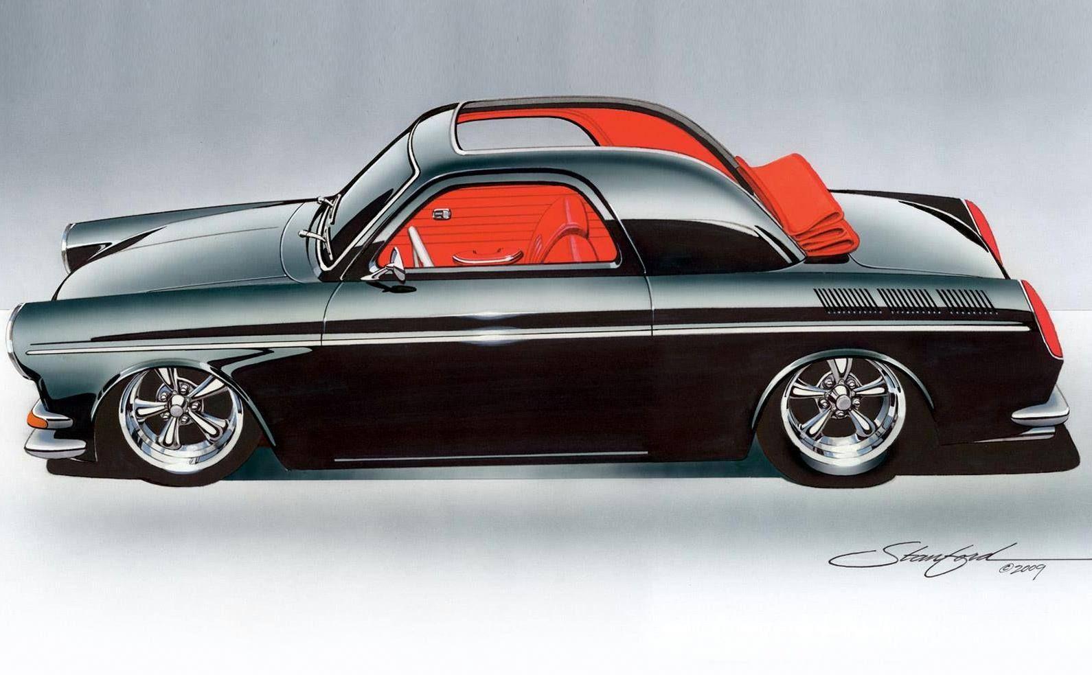 Illustration By Steve Stanford Art Cars Automotive Illustration Volkswagen
