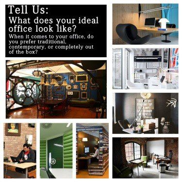 What does your dream work space look like? Share below! #IdealOffice #WorkSpace #Office #Work #Job