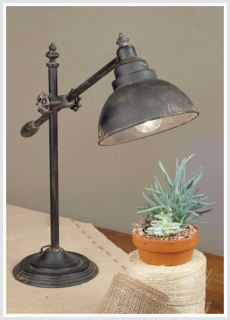 129 Reference Of Farmhouse Style Desk Lamp Metal Desk Lamps Desk Lamp Metal Table Lamps
