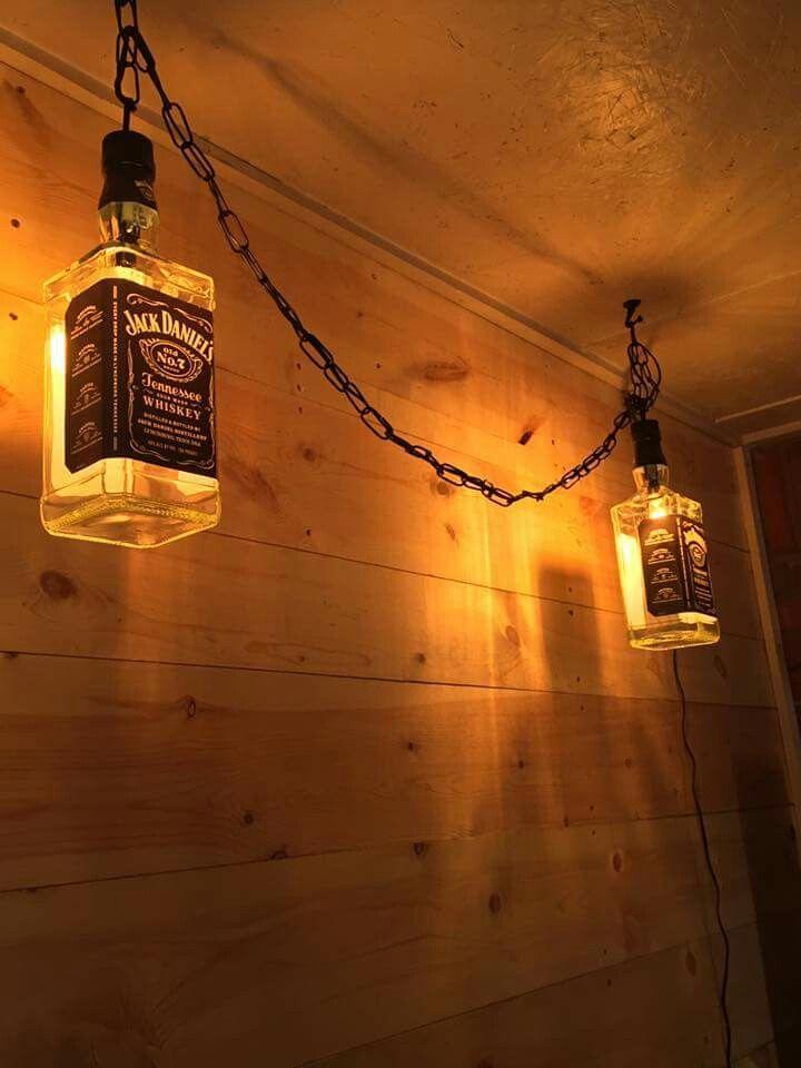 Jack Daniels Chandelier
