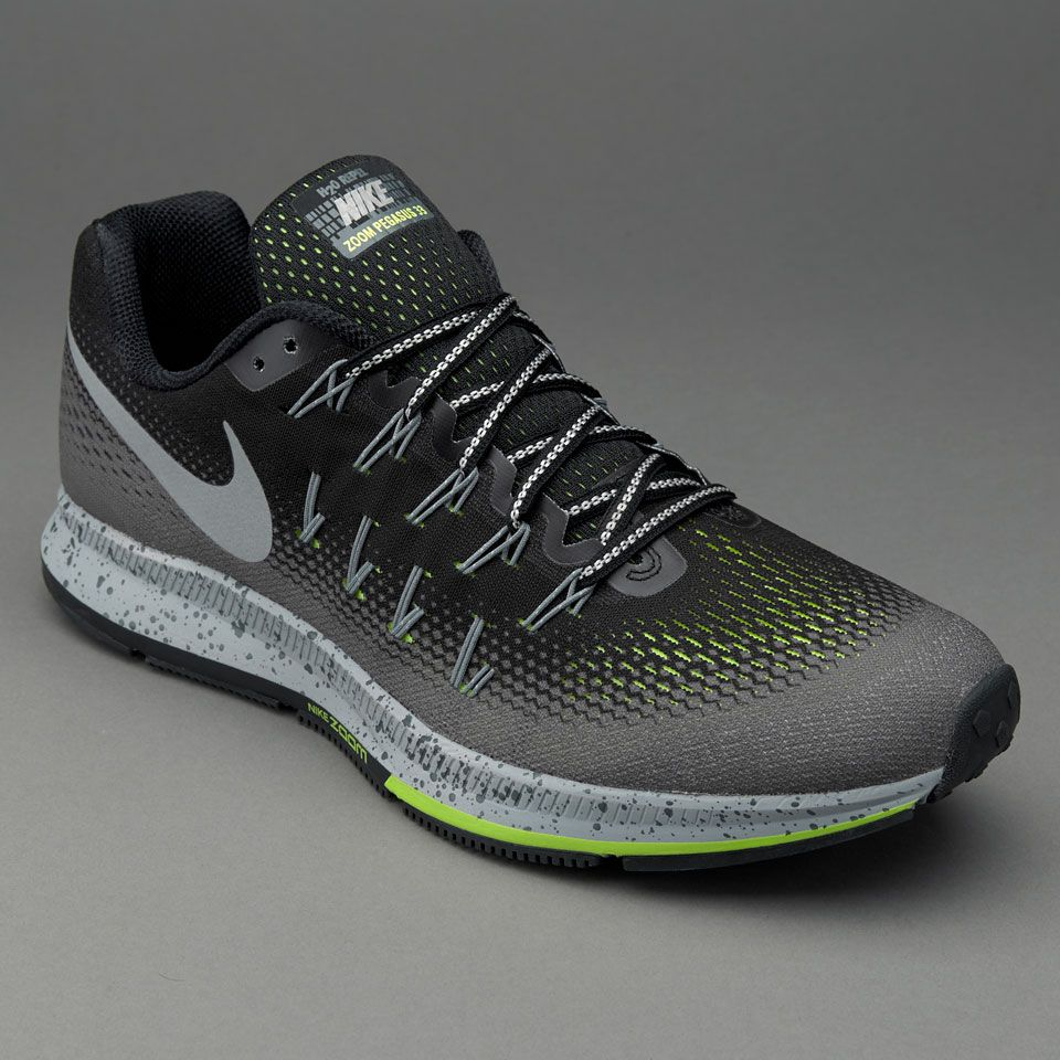 best website 0068a 307e7 ... switzerland air zoom pegasus 33 shield black metallic silver dark grey  stealth 9f182 0db13