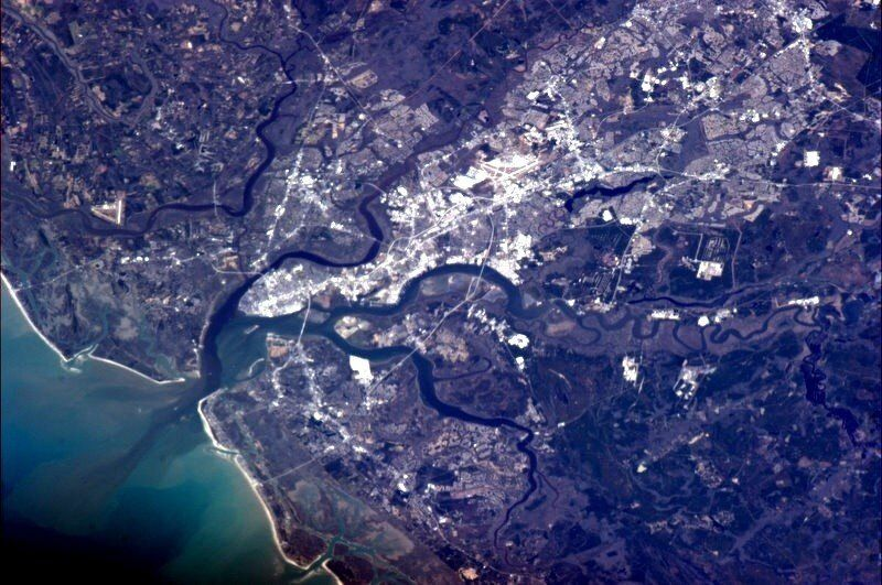 Charleston from Orbit! - Imgur