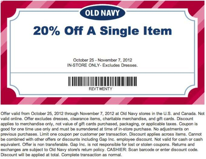 old navy 20 off item printable coupon