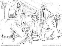Bible Coloring Pages  New Testament  Boys Temples and Coloring