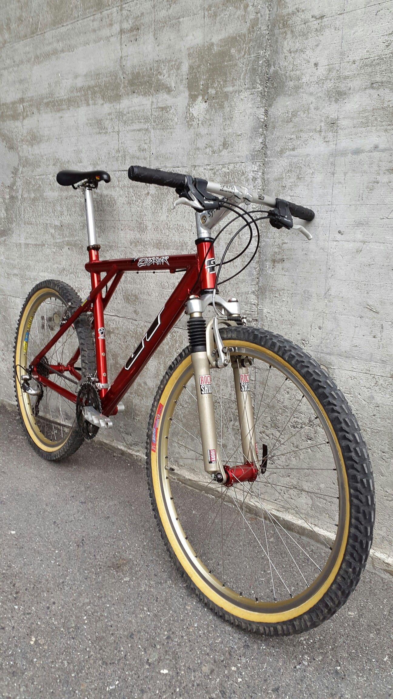 Gt Zaskar 1996 Red Anodized Gt Hadley Hubs Retro Bike Gt
