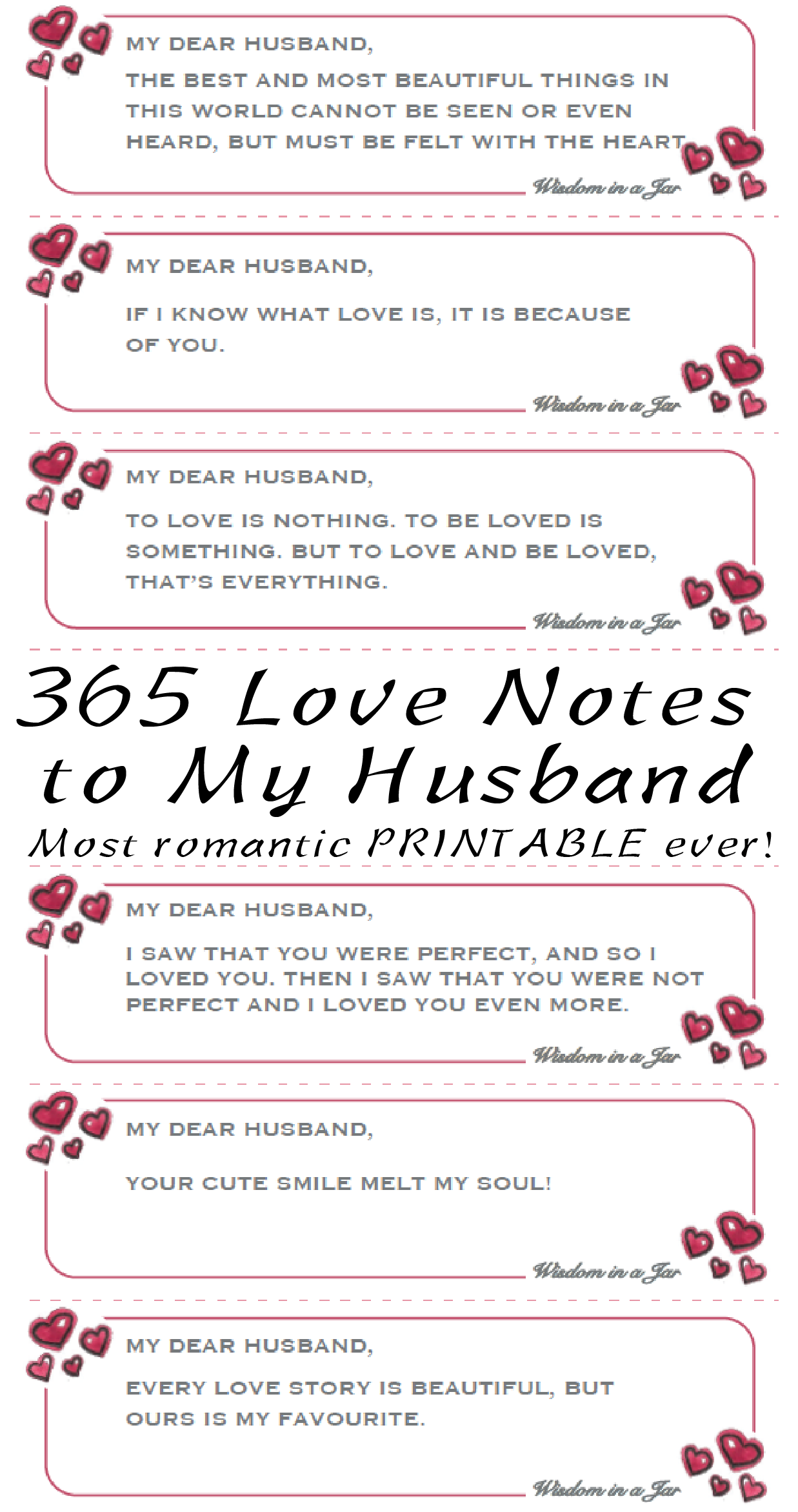 Most Romantic Gift Ever 365 Love Notes To Your Husband Husband Giftforhusband Lovenotes Valentine Quotes For Husband Love Notes For Husband Romantic Notes