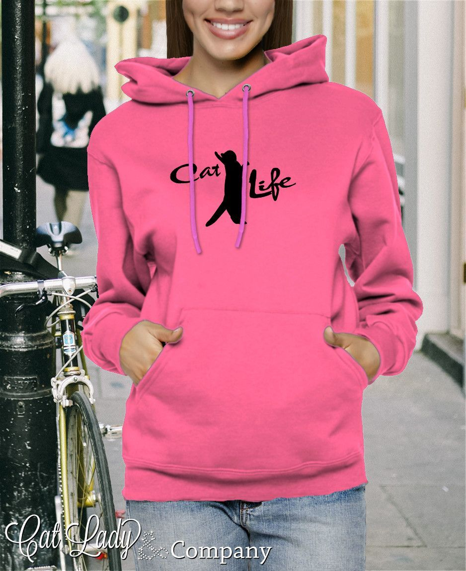 Cat Life Pullover Hoodie