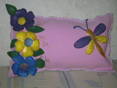 Como hacer almohadas de foami - Imagui