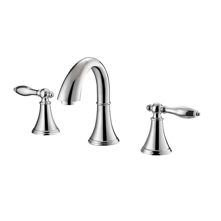Avanity Clarice Polished Chrome 2 Handle 8 In Widespread Watersense Bathroom Sink Faucet With Drain Lowes Com Bathroom Faucets Widespread Bathroom Faucet Bath Faucet [ 900 x 900 Pixel ]