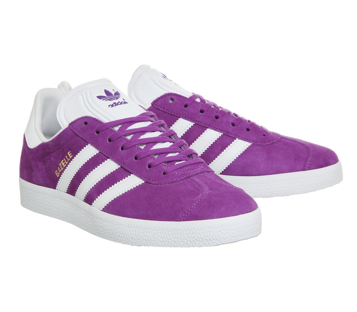 adidas purple trainers