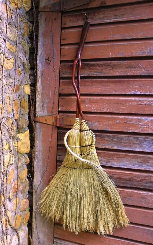Custom Handcrafted Art Heirloom Wedding Brooms by Mark Hendry of