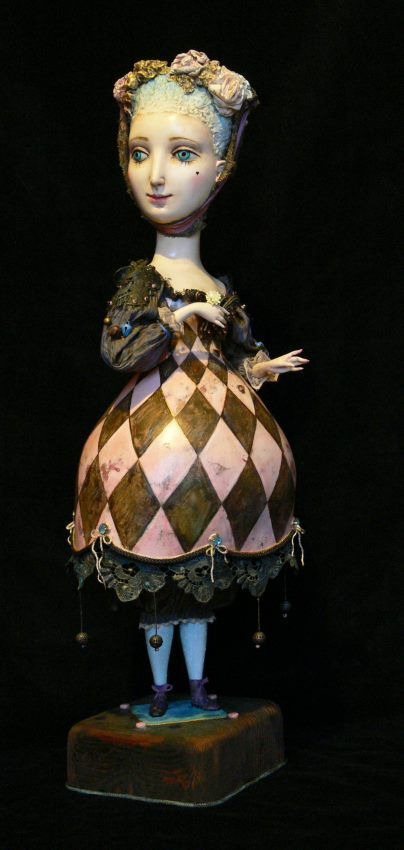 Gulia Alekseeva dolls Куклы Гули Алексеевой