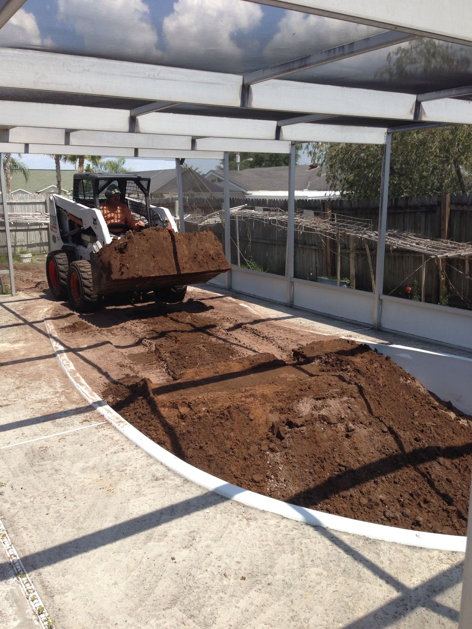 Fill Dirt Can Be Used To Fill In That Unwanted Pool Hauling Pasco Tampa Tampa Bay Area Pool Tampa