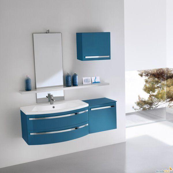 Aqua Mobili Da Bagno.Mobile Bagno Blu Therapy4home Bagno Blu Design Home Con