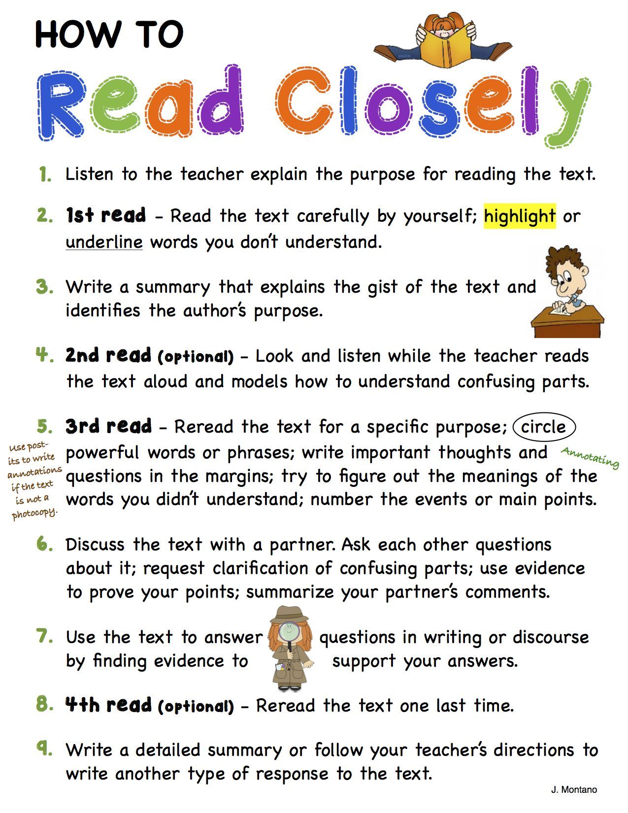Gr 3 5 Some Recommended Steps For Doing Close Reading Close Reading Reading Lessons 5th Grade Reading [ 1650 x 1275 Pixel ]