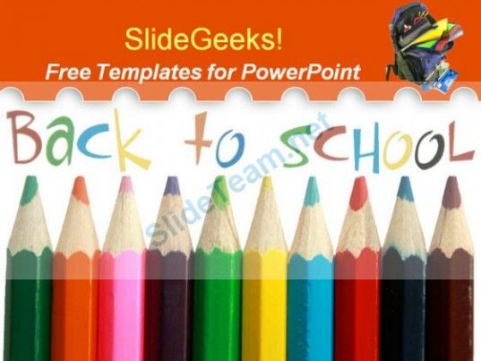 Backtoschool  Powerpoint Templates Themes  Abstract