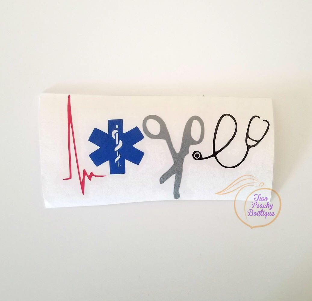 Medical Love Decal Medical Decal Paramedic Gift Emt Gift Graduation Gift Medic Amublance Decal Cup Car Public Safety Emt Gift Paramedic Gifts Etsy [ 1000 x 1037 Pixel ]