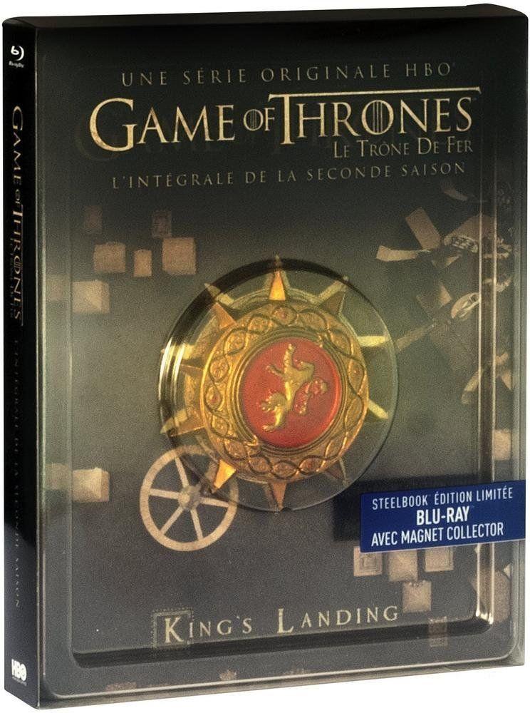 Game Of Thrones Le Tr Ne De Fer Saison 2 Francia Blu Ray Tr Ne Le Game Game Of Thrones Francia