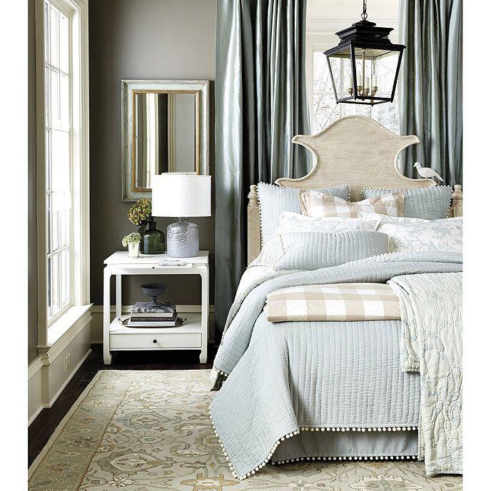 Audree Pom Pom Quilted Bedding #decorateshop