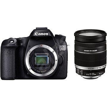Digitální zrcadlovka Canon EOS 70D body + objektiv 18-200mm IS